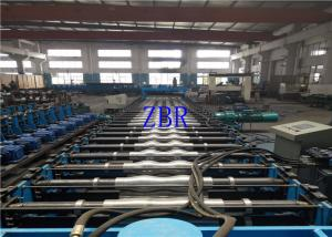 China 15Kw Corrugated Side Panel Roll Forming Machinery Electric Motor Cutting 10×1.2×1.5 on sale