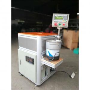 China B22 Bulb Cap Punching Crimping Nailing Testing Machine For LED Lighting Production on sale