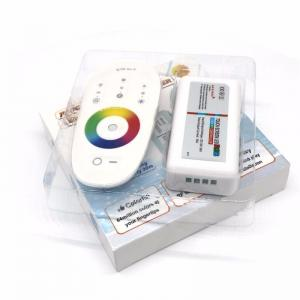 China DC 12V-24V 3 channels LED RGB Remote controller 2.4G RGB touch LED Controller for for SMD 5050 3528 5630 led strip Light on sale