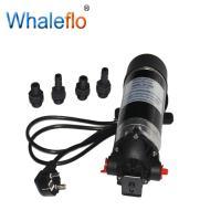Whaleflo 220V ac 100psi 1.5gpm high pressure diaphragm water pump