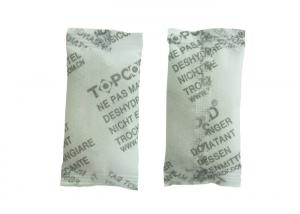 China Black And White Dry Packs Silica Gel Desiccant 2 G Weight 25 * 52 Mm Size on sale