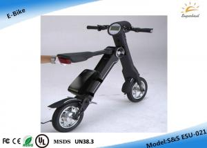 China Eco-friendly Small Wheel Folding Electric Bicycle Vehicle FCC  / RoHS on sale