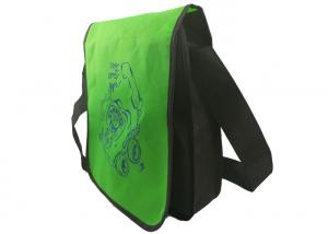 China China Manufacturering non woven bags Messenger bag handles for man women black green OEM logo wholesale on sale