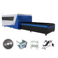 Convenient  Fiber Optic Sheet Metal Laser Cutting Machine Water cooling Method