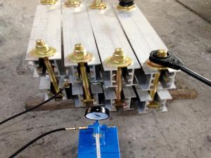 China Industrial Conveyor Belt Vulcanizing Machine Tape Vulcanizing Press Machine on sale