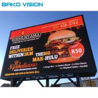 China 10mm Pixel Pitch Outdoor Electronic Led Billboards High Brightness Waterproof IP65 on sale