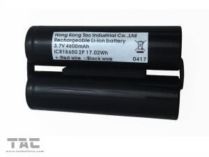 China NCM 18650 Lithium Ion Battery 3.7V 4600mAh  Battery Pack for Head Light on sale