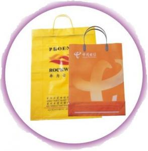 China Promotional Classic Hard Plastic Wine Bags With Reinforced Paper Card on sale