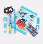 China Promotional Item Cute Stationery, Custom Cartoon Stationery Set wholesale