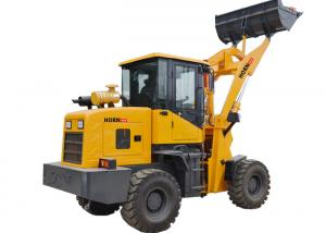 China Hydraulic Articulated Small Tractor Wheel Loader 930L 1800kg Rated Load on sale