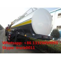 China BPW 2 axles 35,000L fuel tank trailer for sale, hot sale CLW brand 2 axles 35 cubic meters oil tank semitrailer on sale