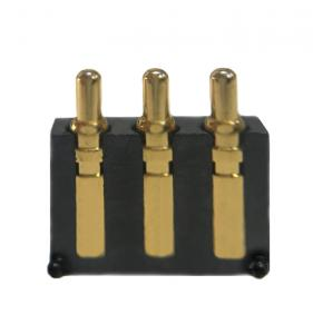 China High Accuracy 3 Pin Battery Connector Phosphor Bronze Material Long Durability on sale
