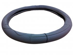 China konlin car accessories-new model genuine leather steering wheel cover (P124) on sale