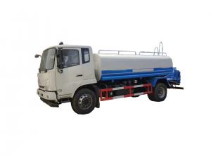 China Dust Control Water Sprinkler Truck Water Transport Truck 8 Cub Meters on sale