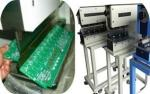 V-Cut PCB Separator With Linear Blades Protect Component For LED Industry