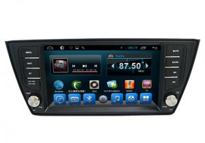 China Quad Core Volkswagen Gps Navigation VW Fabia Radio Stereo Bluetooth on sale