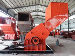 China Low Noisy Scrap Metal Crusher For Fine Grinding Materiel / Crushing Equipment on sale