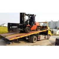 Japan original TOYOTA used 5ton forklift for sale ,lifting height 5m