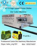 Автоматический быстрый ход гофрировал прорезать печатания коробки умирает автомат для резки