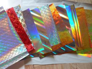 China Holographic paper on sale