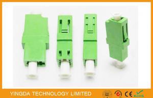 China LC / APC Simplex Green Single Mode Fiber Optic Adapter 1310nm , LC Fiber Coupler on sale