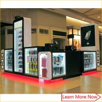 Attractive shopping mall cell phone accessories phone case repair kiosk