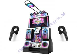 China Commercial 9D VR Games Dancing Music Simulator Video Virtual Reality Simulator on sale