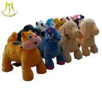 Hansel high quality coin operated plush animal electric scooters