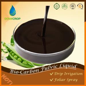 China DOWCROP BIO-CARBON@FULVIC BIO STIMULANT LIQUID Hiah Quality Hot Sale 100% water soluble fertilizer  organic  fertilizer on sale