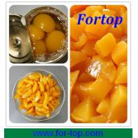 China Canned Halves/ Sliced/ Diced Yellow Peach 2014 Crop on sale