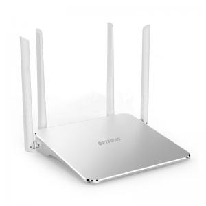 China Gigabit smart Wi-Fi router 1200M wireless dual band 5 ports better wall penetrating wifi router on sale