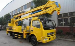China High Altitude Operations Special Purpose Trucks / Aerial Platform Truck on sale
