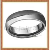 top quality and nickel free comfort fit mens titanium ring