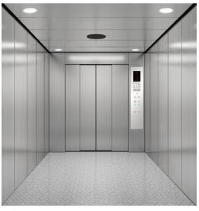China Space Saving Safety Warehouse Freight Elevator Capacity 3000KG - 7000KG on sale