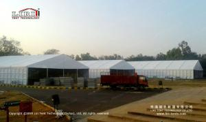 China White color 2000 people Outdoor party tent wtih ABS walls on sale