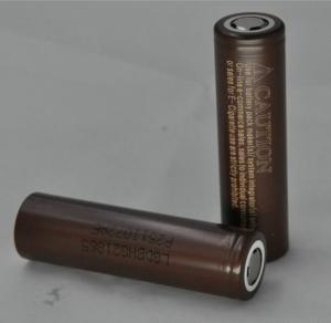 China Original HG2 18650 3.7v Lighter 18650 li ion Battery 3000mAh 30A Discharge Current Electric Bike Battery on sale