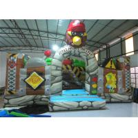 China New The Gorilla Inflatable Fun City Animals The construction inflatable Amusement Park For Children under 12 years on sale