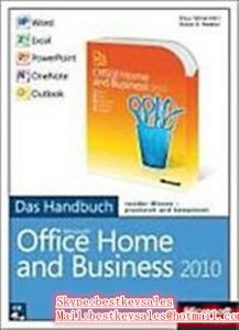 Quality Microsoft Office 2010 - Home and Business 1PC, FPP, Original online activation for sale