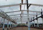 Sound Proof Steel Structure Warehouse OEM Anti Wind Earthquake Resistance