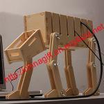 DIY AT-ATケーブルの管理システムのオルガナイザー