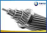 High Strength AACSR Conductor , Stranded Conductors Steel Reinforced For IEC Sizes
