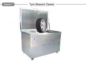 China Líquido de limpeza ultrassônico feito sob encomenda do pneumático/roda do carro com sistema da rotação on sale
