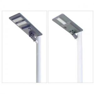 China High quality outdoor country road lighting ip65 smd 80W integrated all in one led solar street lighting on sale