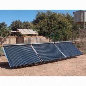 China A água quente, coletor solar evacuado do tubo, usado nos hotéis, recorre hospitais e pensões on sale