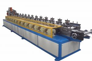 China Light Weight Steel Stud and Track Roll Forming Machine with 17 stations on sale