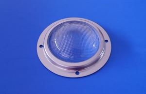 China 120degree 66mm Led Glass Lens Module Led Optic Lens For Highbay Light on sale