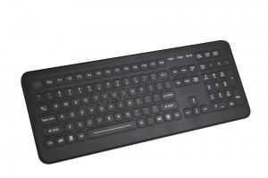 China Cleanable medical keyboards with integrated numeric keypad 12 FN keys on sale