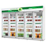 Green&health commercial Glass Door Upright Pepsi cola display Refrigerator cooler showcase