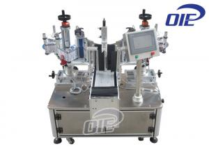 China Semi Automatic Labeling Machine Linear Single / Double Side Labeling Machine on sale