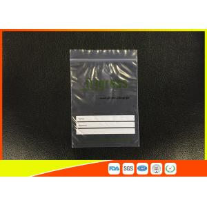 Quality Reusable Industrial Poly Bags / Printed Custom Ziplock Bags Damp - Proof for sale